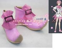 Cute High Earth Defense Club Love Defense Club Ryuu Zaou Cosplay Boots Shoes S008