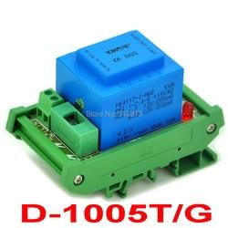 P 115VAC ، s 2x 12vac ، 5VA din السكك الحديدية جبل محول الطاقة وحدة ، D-1005T/ز.