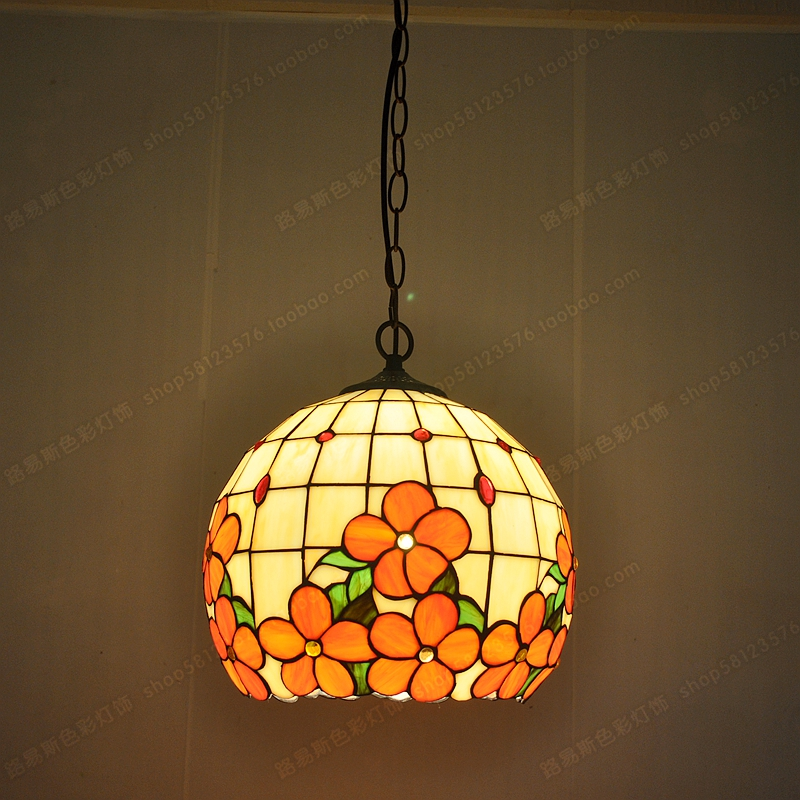 12-inch primary color glass ( ^ ^) chandeliers ...