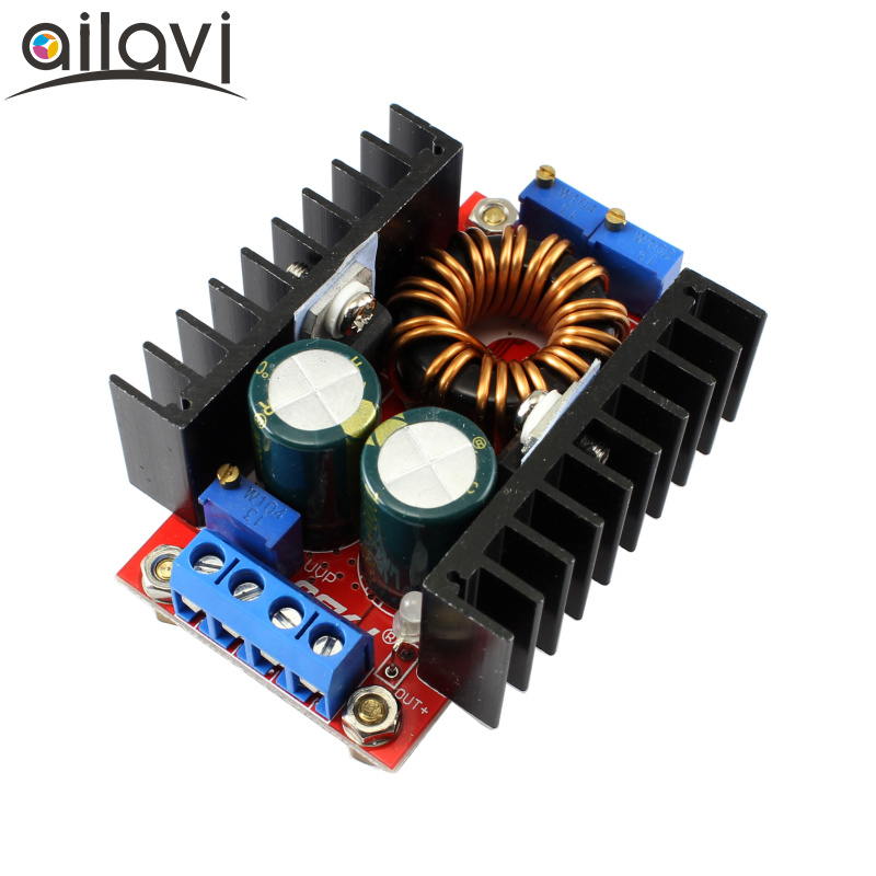 DC-DC Automatic Boost Buck CC CV Power Converter Module 9-35V Step Up/Down to 1V-35V 12V19V24V Adjustable Voltage Regulator 80W wholesale 1pcs dc dc step up converter boost 2a power supply module in 2v 24v to out 5v 28v adjustable regulator board dropship