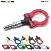 Спортивный EPMAN Универсальный Гоночный буксировочный крюк передний задний для европейских автомобилей прицеп буксировочные штанги EP-RTH002