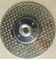 Алмазные режущие и шлифовальные диски 115 мм 4 5 дюйма для резки и шлифовки мрамора  гранита с фланцем 5/8 ''-11 двухсторонних