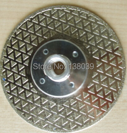 115mm 4.5'' Diamond Cutting And Grinding Discs For Cutting And Grinding Marble Granite With Flange 5/8''-11 Double Sides On Sale