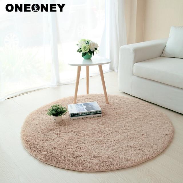 Oneoney Anti Slip 80x80 Cm Salon Tapis Table Basse Chambre Tapis