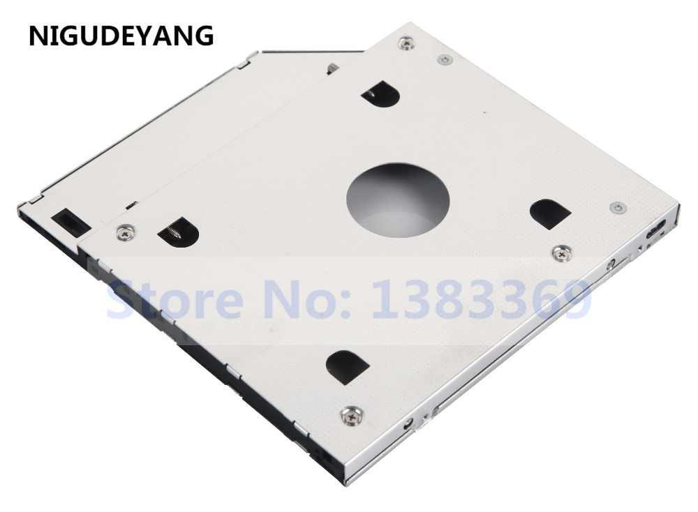 NIGUDEYANG 2nd HDD SSD Hard Disk Drive Caddy Adapter for Dell Inspiron 15  3521 3537 5566 3567
