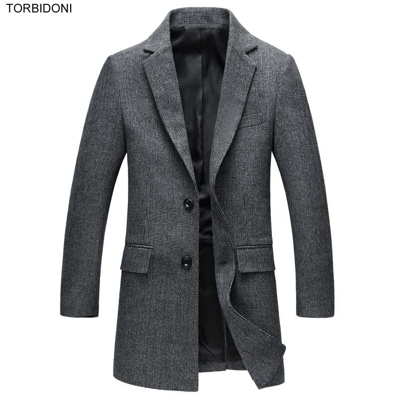Fashion Men Casual Blazer Jacket Designs Slim Fit Autumn Blazer Masculino Plus Size M-XXXL Casual Grey Long Blazer for Men