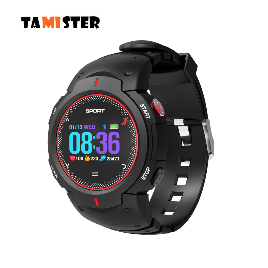 TAMISTER F13 Bluetooth Smart Watch Swimming IP68 Waterproof Multi-sport Mode Fitness Tracker Sport Heart Rate Monitor Smartwatch image