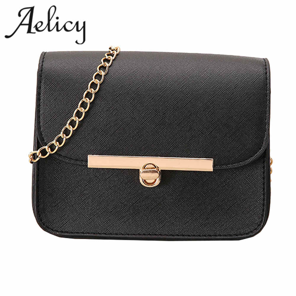 Aelicy Famous Mini Women Messenger Bags High Quality Women Shoulder Bag Ladies Small Clutches Chain Women Crossbody Bags Tote