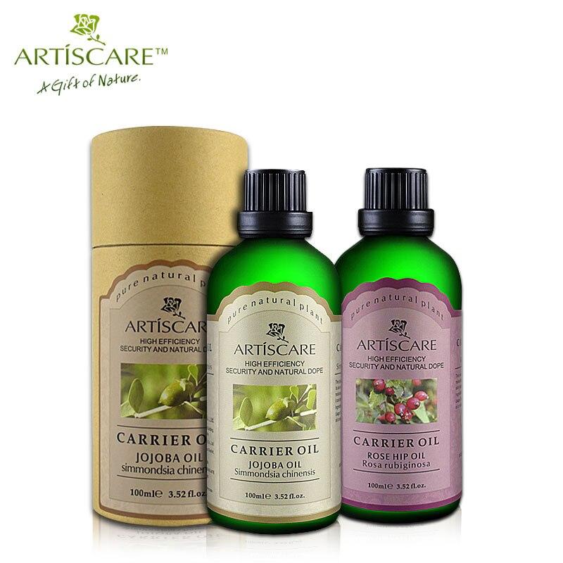 ARTISCARE Jojoba base oil + Rose Hip base oil Skin Care Whitening and Moisturizing Anti wrinkle Anti-Aging hydrating carrier oil