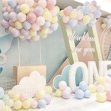 Украшение для свадебного банкета набор Макарон латексные воздушные шары 10 дюймов 2,2 г арки декоративные шары
