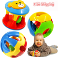 2pcs Baby Toy Fun Little Loud Jingle Ball,Ring jingle Develop Baby Intelligence,Training Grasping ability Toy For Baby 0-1Year