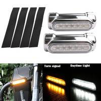 Motorcycle Accessories Highway Bar Switchback Driving Light White Amber LED for Victory Crash Bars FOR Touring