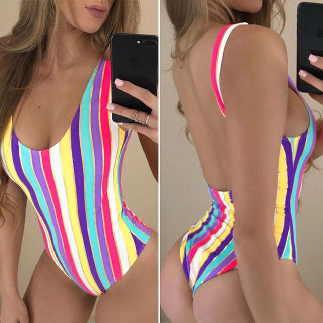 One Piece Swimsuit Women Swimwear Sexy Swimsuit for Girls