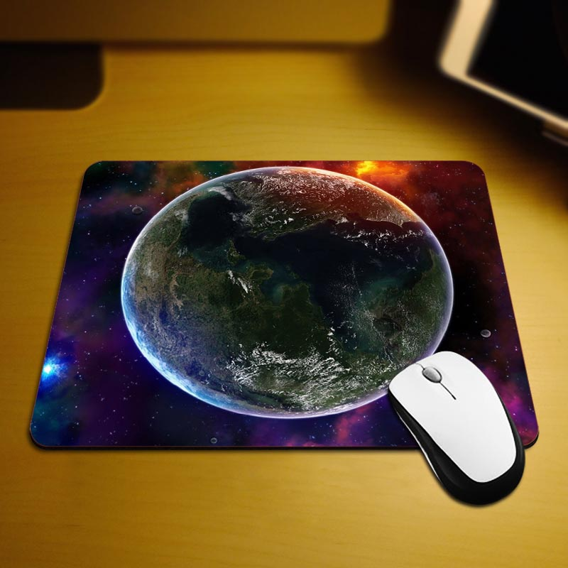 MaiYaCa Colorful Universe Computer Gaming Mouse Pad Size 18*22cm and 25*29cm