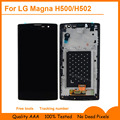 For LG Magna H500F H502F H500R H500N H500 H502 Y90 Lcd Display Screen +Touch Panel digitizer glass+frame assembly