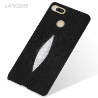 LANGSIDI Brand Phone Case Pearl Fish Half A Pack Of Mobile Phone Case For Xiaomi Mi