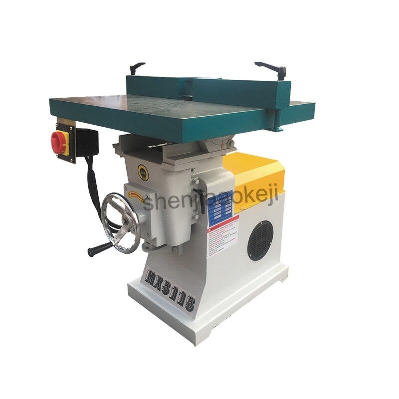 380 v/220 v verticale haute vitesse bois routeur broche shaper machine bureau fraiseuses machine de découpage matériel de travail du bois - 5