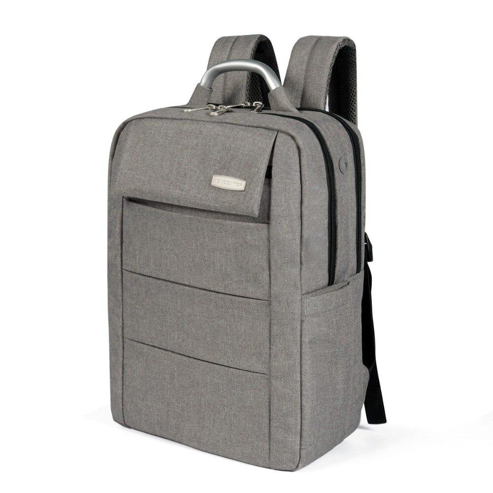 все цены на Advocator Business Casual 14.1 Inch Computer Urban Backpack Waterproof Large capacity School Bag Trunk Bags Earphone Hole Unisex онлайн