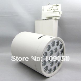 ФОТО 18W LED Track light,high power LED Spotlight,LED spotlight with integral dimmable power supply,SMTR-11-46