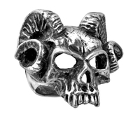 Skull Ring Men Punk Style Fashion Jewelry Charm silver evil Skeleton Ring For Party fashion rock male rings