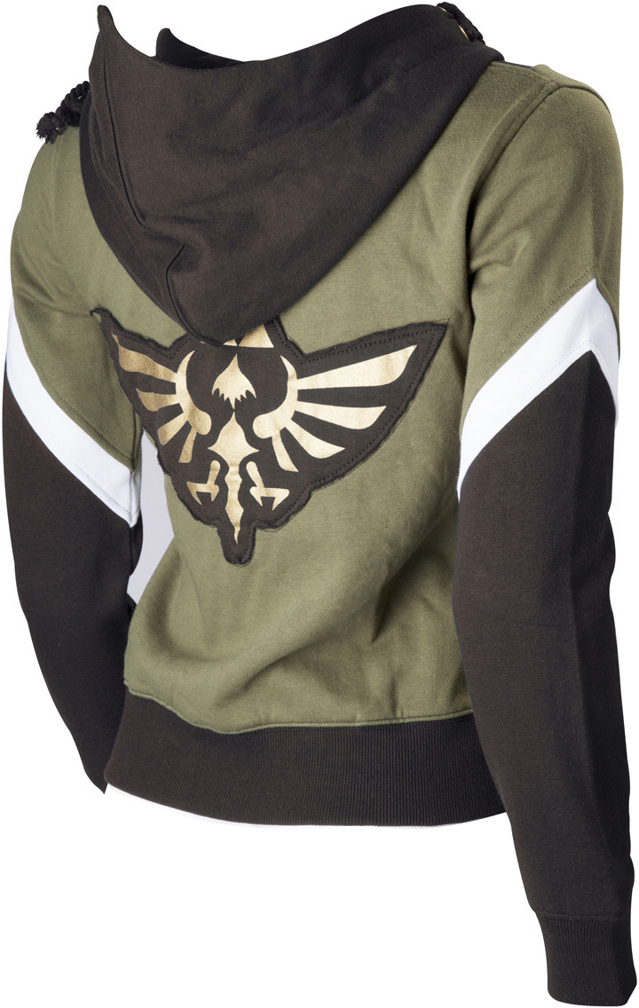 The Legend of Zelda Link Hoodie Anime Zipper Coat Jacket Sweatshirt Cosplay Costume