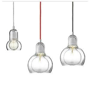 Image 5 - Modern Creative simple dining room Pendant Light Clothing store flower shop glass Pendant lamp E27 Edison Decorative light bulb