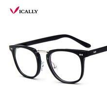 Decoração do vintage óculos de miopia armação de óculos de metal unisex óculos de olho óculos de grau