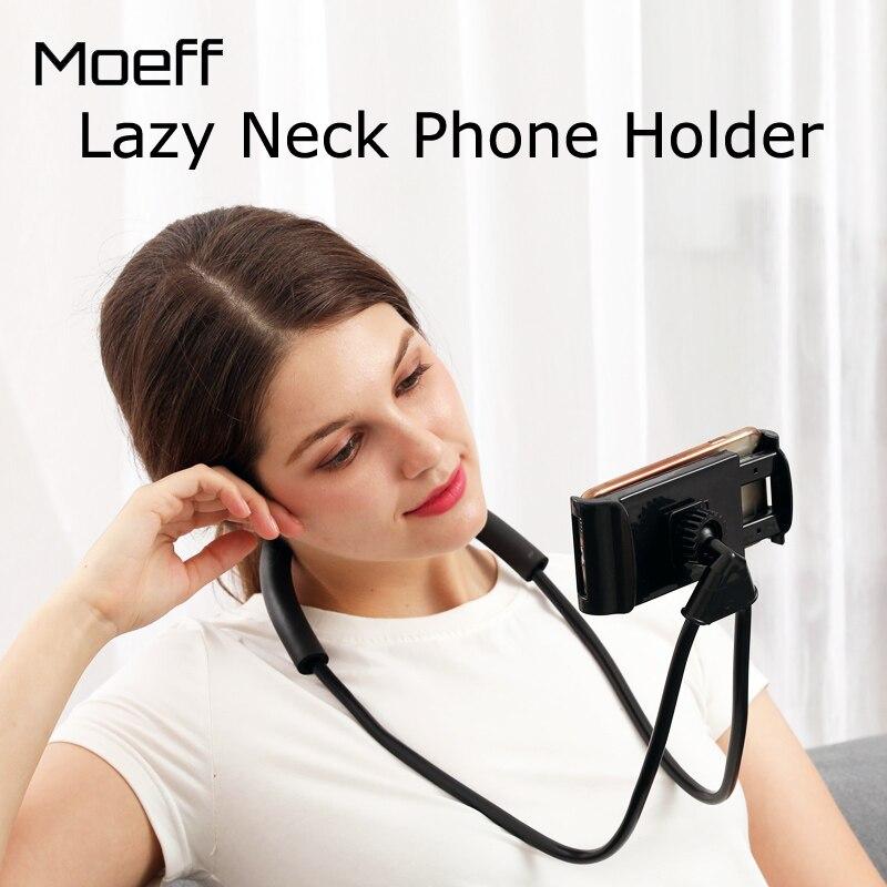 Moeff Faul Hals Telefon Halter Zelle Mobilen Ständer Smartphone Flexible Halter/stand Für Telefon Halterung Für Iphone Universal