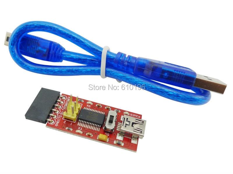 10 TEILE/LOS USB Zu TTL FT232 FTDI Grundprogramm Downloader Für Arduino