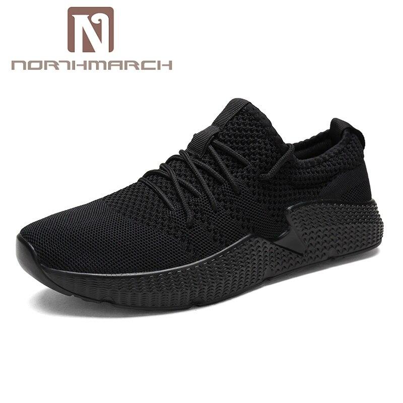 Pour Hommes up Northmarch Respirant rouge Dentelle Noir Sneakers blanc Zapatillas Casual Chaussures D'été Mode Appartements Léger awwqPB