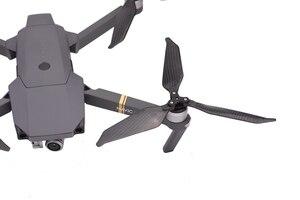 Image 4 - 8 Stuks 8331 Carbon Fiber Low Noise Propeller Voor Dji Mavic Pro Platinum Drone 3 Blade Props Wing Vervanging kits Onderdelen