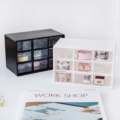 цена на Multifunction Desktop Organizer Office Desk Accessories Stationery Box Desk Drawer Stationery Holder