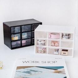 Multifunction Desktop Organizer Office Desk Accessories Stationery Box Desk Drawer Stationery Holder