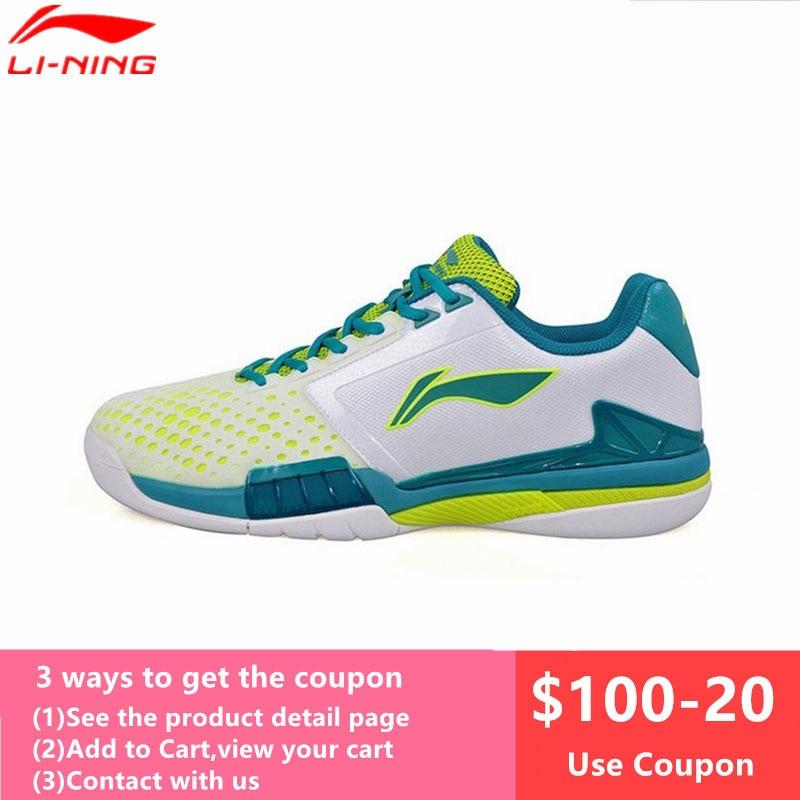 Li-Ning Профессиональный теннис обувь для Для мужчин Демпфирование дышащий стабильности кроссовки Li Ning Ман tenis masculino спортивные L622OLZ