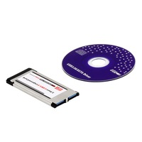High Full Speed Express Card Expresscard To USB 3 0 2 Port Adapter 34 Mm Express