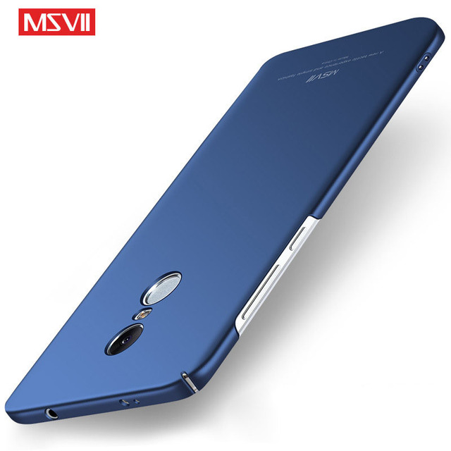 online store 995c5 57107 US $3.09 38% OFF|MSVII Case for Xiaomi Redmi Note 4X Cover Slim Fashion  Frosted Scrub Case PC Hard Back Cover for Xiaomi Redmi Note 4 Global  Case-in ...