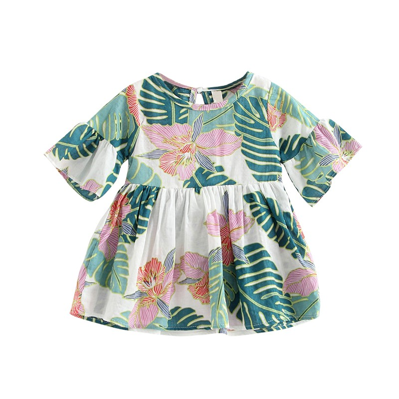 Summer Baby Girls   Blouse   Breathable   Shirt   for Girls Kids   Blouse   Toddler Tops Small Floral Infant   Blouse