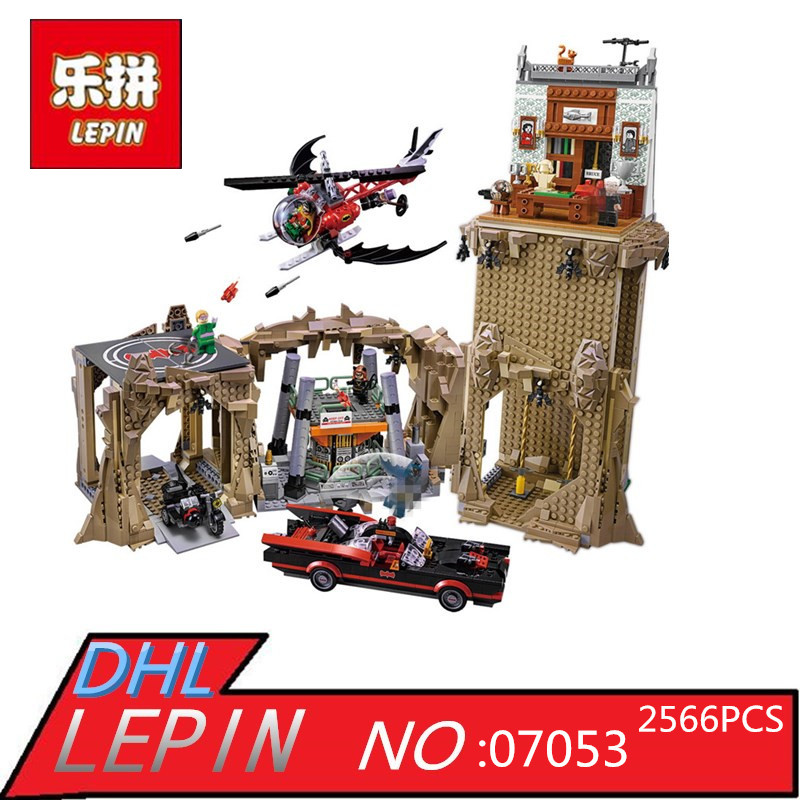 Lepin 07053 2566PCS Genuine Super Heroes MOC Series Super Escort Set Children Educational Building Blocks Bricks Toys Model Gift lepin 16050 the old finishing store set moc series 21310 building blocks bricks educational children diy toys christmas gift