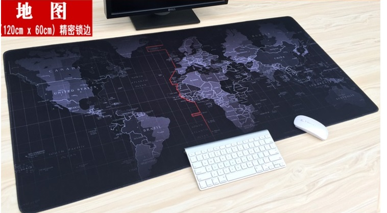 120 cm x 60 cm XXL Grande Mouse pad gamer Gaming Mousepad mat Tastiera Tavolo Ufficio Cuscino Home Decor Estera