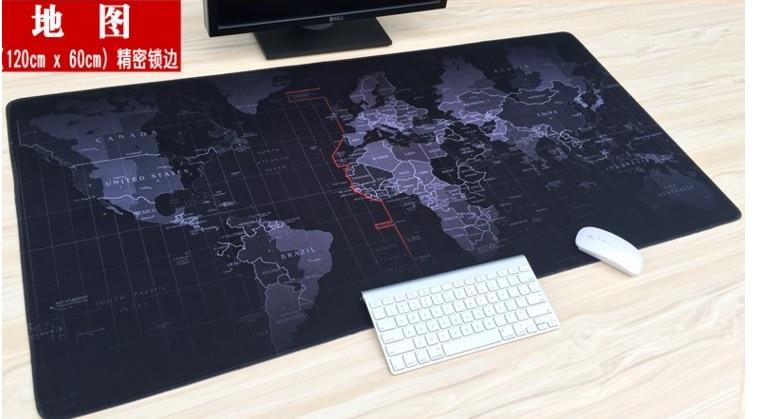 120cm x 60cm XXL Big Mouse pad gamer Mousepad Gaming Keyboard mat Office Table Cushion Home Decor Estera