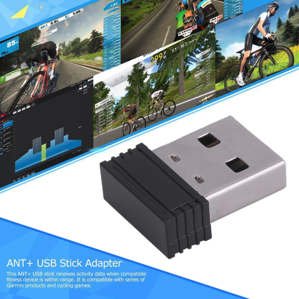 Mini Size Dongle USB Stick Reciever Adapter For ANT Powerful USB Stick For Garmin Forerunner 310XT 405 410 610 60 70 910XT GPS