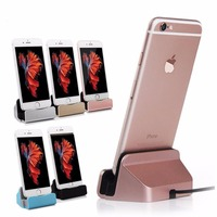 Charging Dock Station Cellphone Desktop Docking Charger USB Cable Sync Data For Apple IPhone 5 5S
