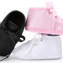 baby shoes boys newborn blk white satin infant shoes prewalkers girls