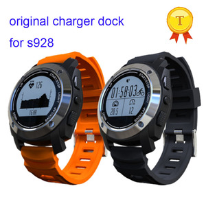Image 3 - free shipping 2018 NEW original quality s928 smart watch wristwatch watch magnetic charging charger dock with a usb cable gift