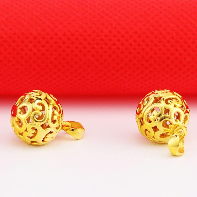 Offre spéciale 24K pendentif en or jaune 3D 999 pendentif en or jaune - 4