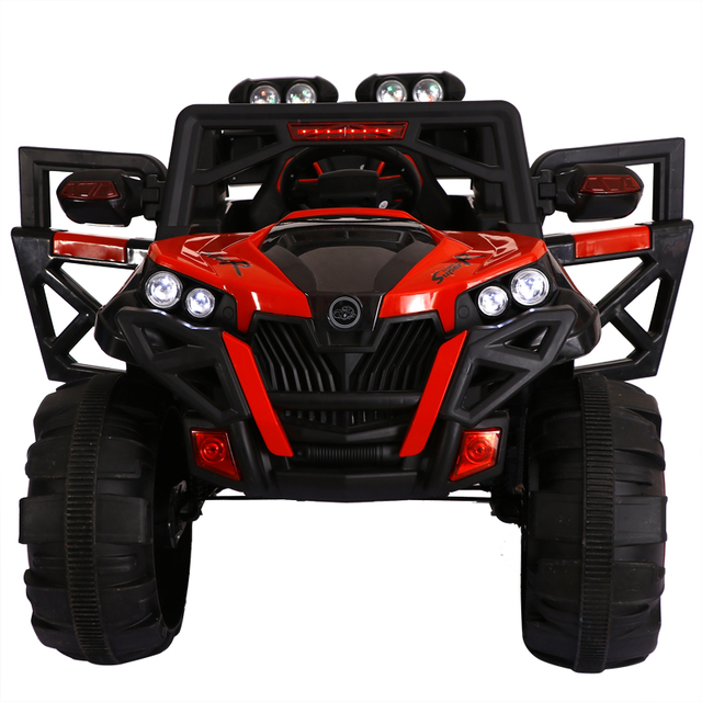 Super Big Kids Four Wheel Drive Electric Car Remote Control Toy Shock Absorption Electric Suv