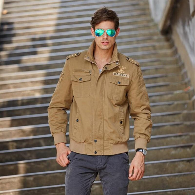 Erkekler için ceketler 2016 Yeni Sonbahar Ceket Ceket Erkek Büyük - Erkek Giyim - Fotoğraf 3