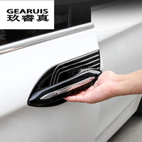 Car styling For BMW 5 series F10 2011 2017 exterior Door Handle Cover Trim Door Bowl Covers Stickers decorative auto accessories