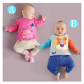 Cartoon Abbigliamento Neonato Spring Sets Boys Girls Casual Animal Babykleding Menino Cute Baby Set Cartoon Baby Clothes Set