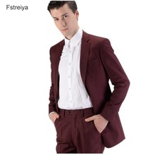 Custom made men wool terno slim suits with pants customized mens clothing for wedding costume homme 3 pieces jacket vest 2019